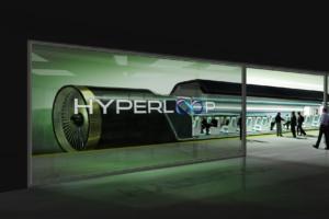 229- Rendering of a Hyperloop One station